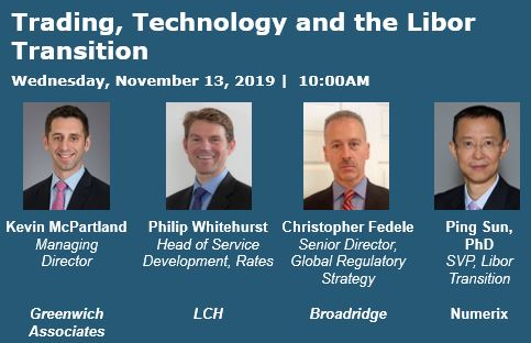 Trading, Technology and the Libor Transition Speakers